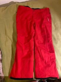 Dare2b mans ski waterproof lined trousers xxxl