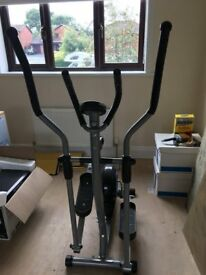 Cross Trainer. As new hardly used. Exercise Monitor to plan and view your exercise performance