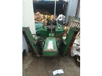 Randsomes 213 gang mower / lawn mower / garden tractor / machinary