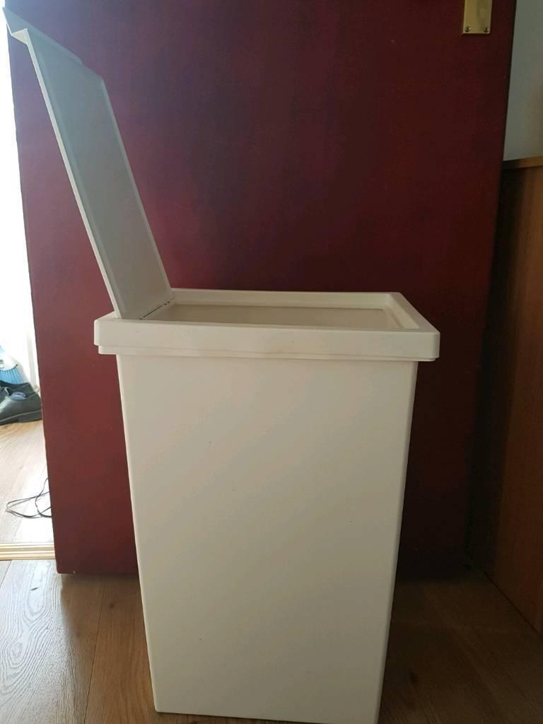 Sy Ikea White Trash Bin