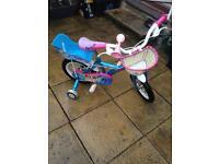 Girls Bike - 4-6 Years Old