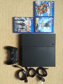Sony PlayStation 4 1TB (VERY GOOD CONDITION) + 3 games