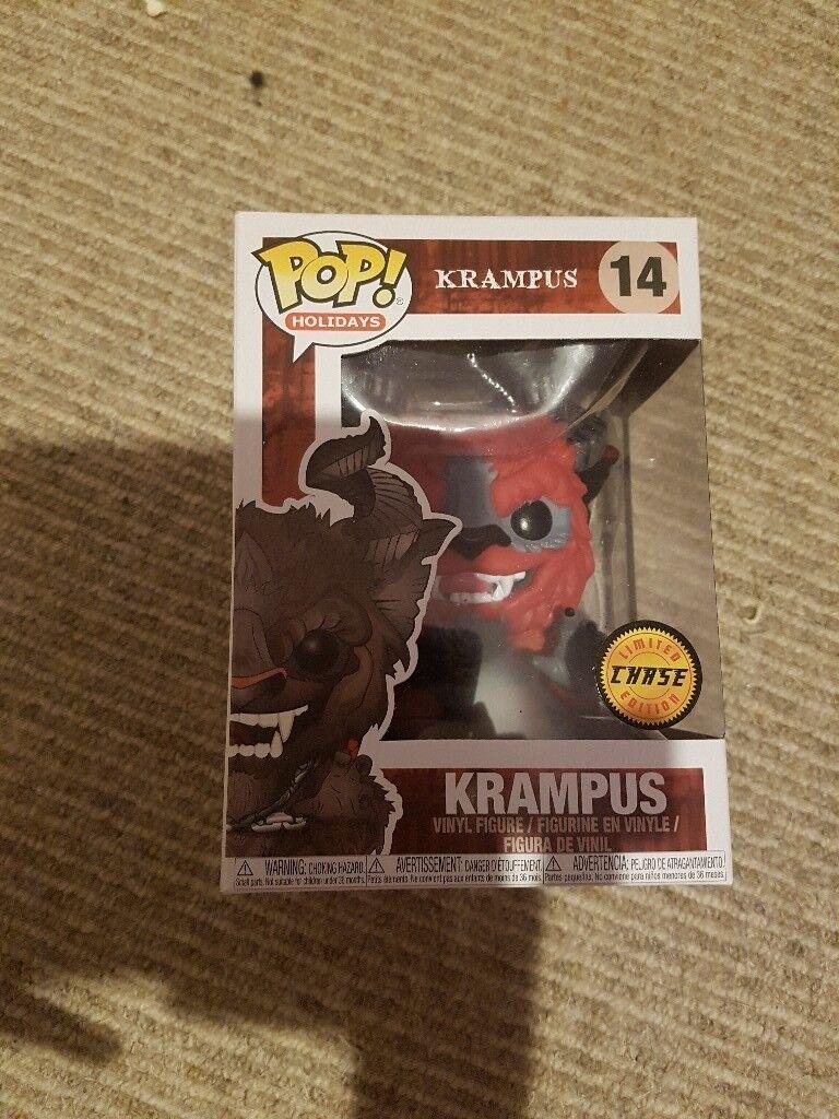 Red Chase Krampus Funko pop