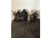 Lord of the rings figures