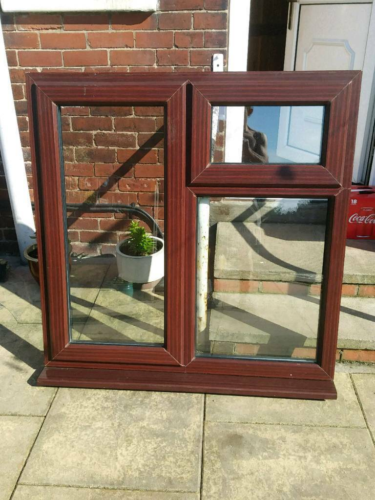 Upvc Window Rose Wood Colour In Pontefract West Yorkshire Gumtree