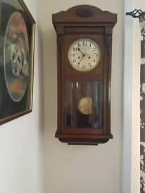 Antique striking wall clock