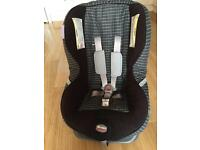 Britax first class si luxury reclining car safety seat .