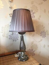 Lamp and matching shade