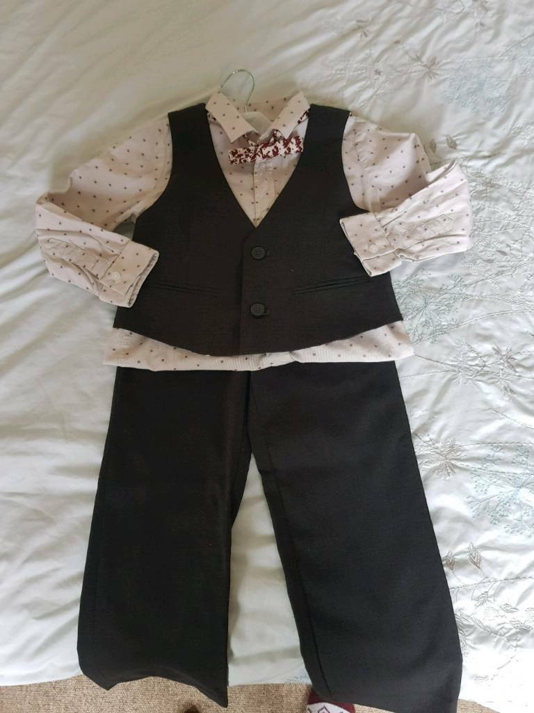 Boys M&s suit