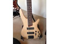 Bass Guitar Ibanez 505