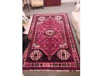 Persian Handmade Carpet Hand Woven in Shiraz, Iran