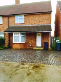 3 BED HOUSE LUTON FARLEY HILL - PART FURNISHED - DRIVEWAY PARKING - CENTRAL LOCATION