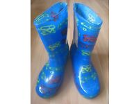 Welly boots, size 2, worn once