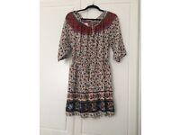 Boho style dress never worn size 12