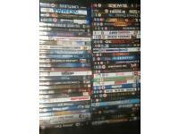 100s DVDs, blurays, CDs
