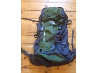 North Face Backpack (65 Liters)