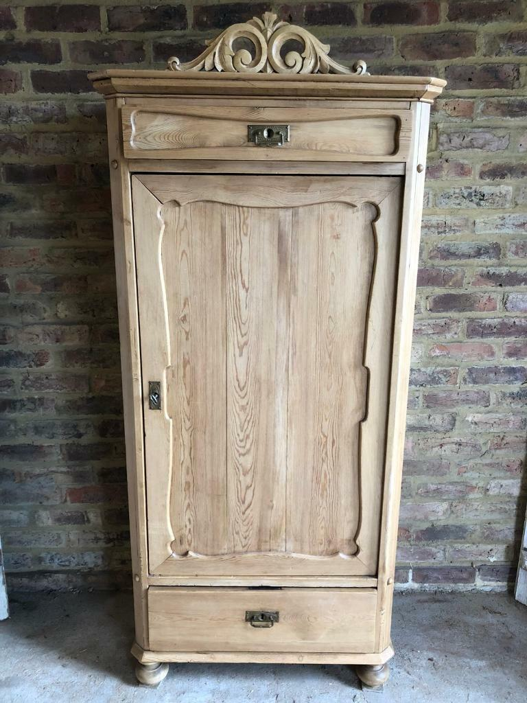 Rustic French Childrens Wardrobe Linen Cupboard Pantry Cabinet Storage In Worcester Park London Gumtree