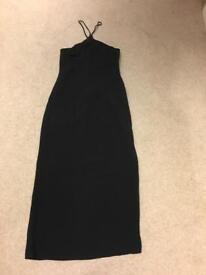 Oasis black dress size 12