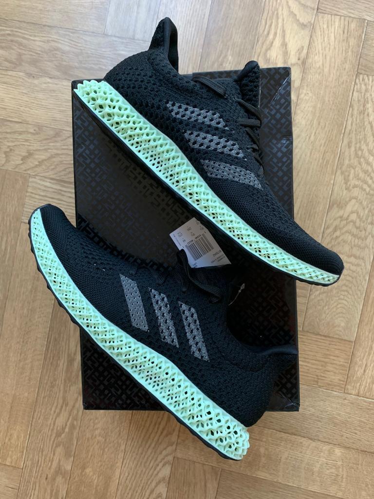 pretty nice 23d10 3ea2a Adidas futurecraft 4D uk size 9.5 boxed new rare shoe