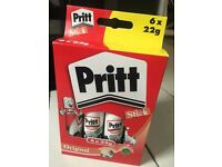 Pack of Pritt Stick - 6 x 22g