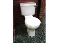 Armitage Shanks low level toilet and cistern