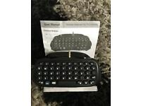 Ps4 chat pad + instructions £4