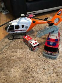 Large helicopter and some more boys toys