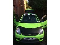 Ford Fiesta mk6 bonnet bra / protector and tow strap