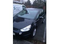 Ford smax, s max 62 plate black low mileage quick sale not Mercedes Vauxhall Peugeot Citroen Audi