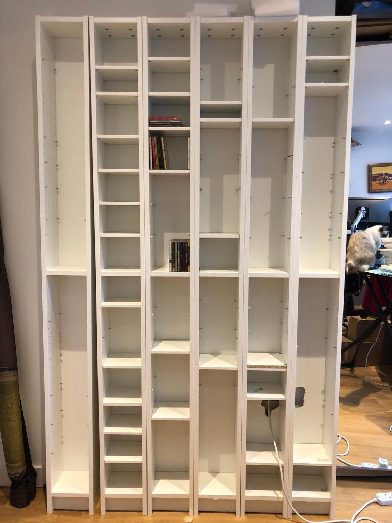 ikea gnedby shelving unit white 5 units available in wandsworth london gumtree. Black Bedroom Furniture Sets. Home Design Ideas
