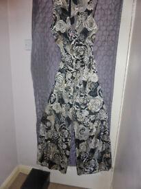 Zandra Rhodes Coulotte suit size 10