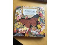 Victorian Butterflies rubber stamp collection