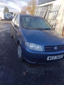 2004 FIAT PUNTO 1.2 PETROL BREAKING FOR PARTS