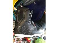 Decathlon Wed'ze Boogey snowboard boots UK8.5 nearly new