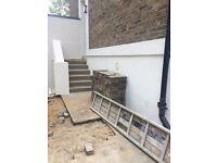 Brick paving stones 15 sqm