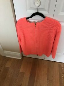 ZARA PEACH COLORED SWEATER