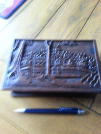 Vintage hardwood Balinese jewellery box