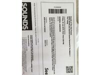 2 x Shed Seven Tickets Castlefield