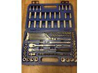 draper expert socket and spanner set