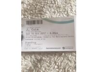 J Cole Concert Tickets