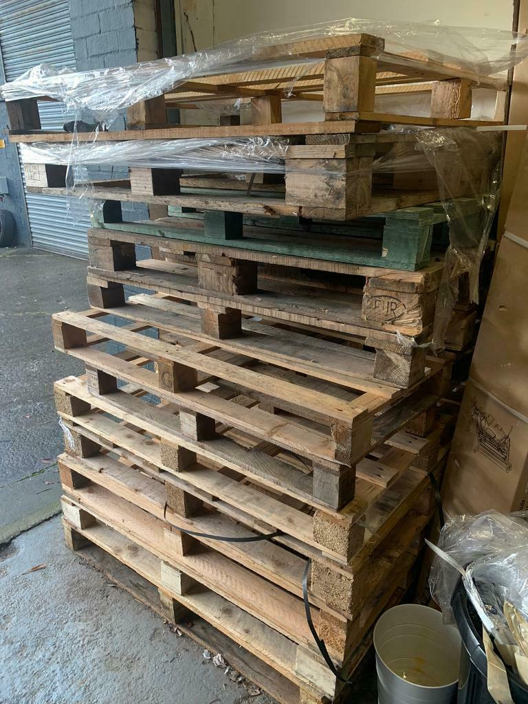 20 wooden pallets - FREE | in East End, Glasgow | Gumtree