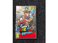 Super Mario Odyssey used like new Nintendo switch