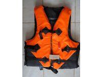 new Lixada life buoyancy aid fishing canoe kayak jet ski orange new jacket large xxl