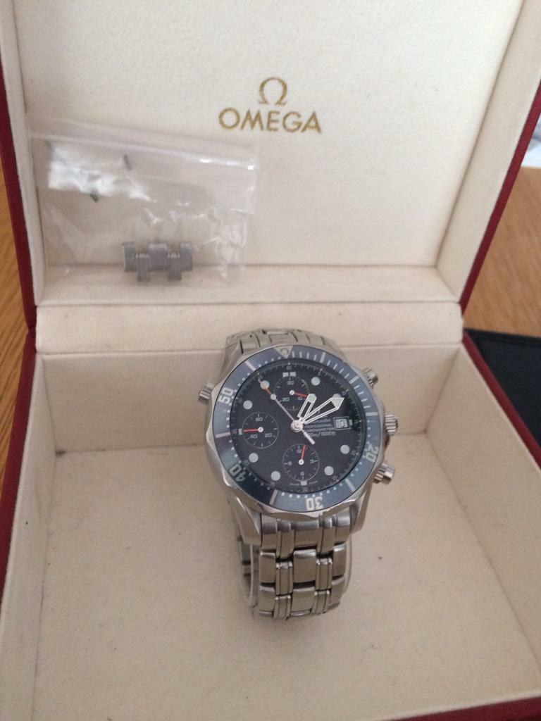 GENUINE OMEGA SEAMASTER PRO DIVER BEAUTIFUL WATCH BOXED ...