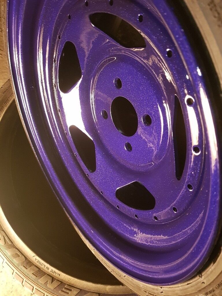 """15"""" 4x100 8J wheels and tyres"""