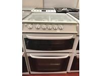 60cm cannon woburn gas cooker double oven glass lid can deliver