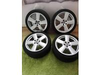 Audi A6 complete wheels 18inch, x4