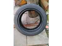 Part worn Accelera Alpha car tyre 195/50 R16