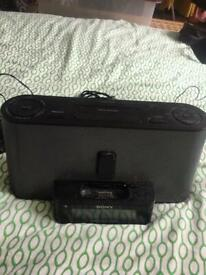 Free Sony speakers with AUX cable