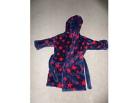 M&S boys dressing gown 1 1/2 - 2 years